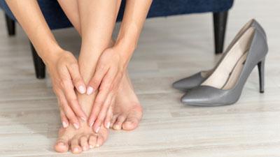 Reumás lábproblémák