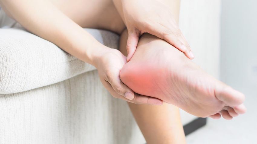 fájdalom a lábak és sarok ízületeiben