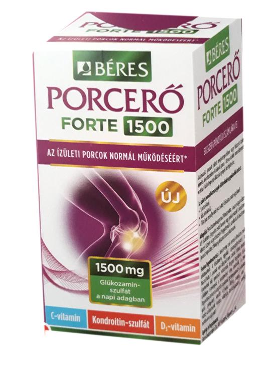 gyógyszerek glükózaminnal és kondroitin tablettával