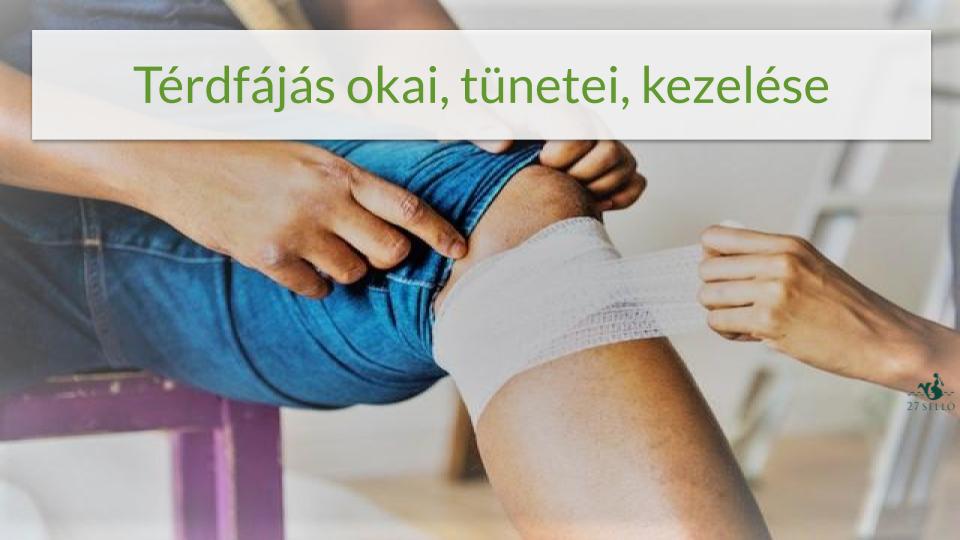 fájdalom a belső felület térdízületében artrózis kezelési módszerek gyógyszerek