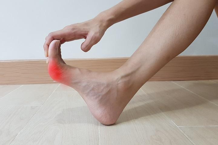 hogyan lehet enyhíteni a lábfej ízületét ízületi fájdalomcsillapító algoritmus