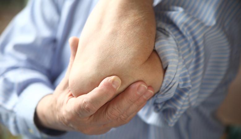 könyök bursitis kezelés otthon